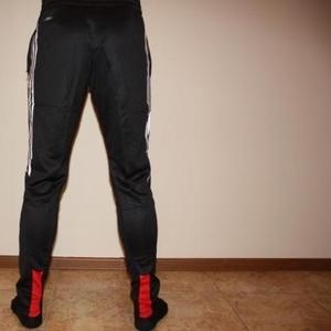 Продажа спортивных зауженных штанов ADIDAS