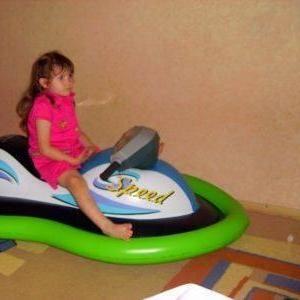 Продам детский надувной водный скутер