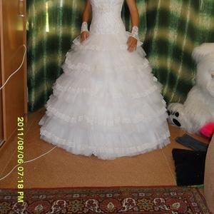 Продам свадебное платье  Астрахань