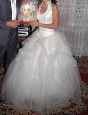 Продам свадебное платье в стиле Романтика цвета Шампань