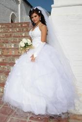 Продам эксклюзивное,  белоснежное свадебное платье!!!